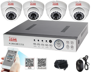 Complete Standalone Network DVR Kits