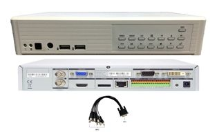 AVerMedia AVer Hybrid 8 Port Embedded Linux DVR NVR Supports Analog and IP Cameras