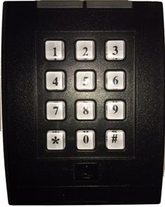 Wired Commercial Keypad