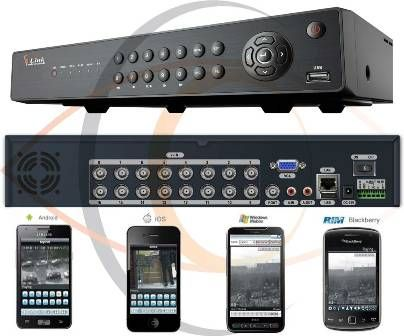 16 Ports Real Time Network Standalone DVR