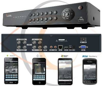 8 Ports H.264 Real Time Network Standalone DVR