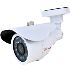 HD 1080P Sony White Bullet CCTV Security Coax Camera AHD +TVI+CVI+ / 2000 + TVL Analog Infrared Indoor/Outdoor Color D/N