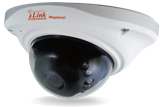 2MP Sony IP Indoor/Outdoor Infrared Dome Security Camera with 3.6mm Fixed Lens