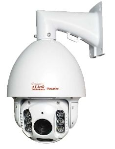 2MP IP WDR PTZ Speed Dome CCTV Security Coax Camera Infrared Indoor/Outdoor Color D/N, 30x Optical Zoom