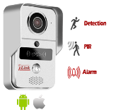 Wireless Smart Wi-Fi Doorbell with HD Security Camera
