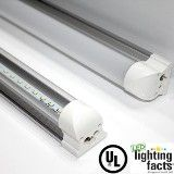 8ft 31W/40W Integrated Tube Light  6000K  Clear Frosted UL