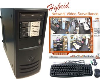 4 Port 120fps Network DVR System